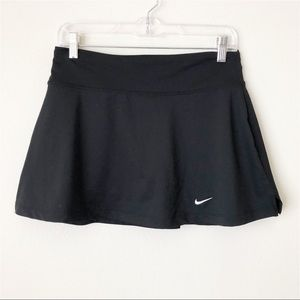 Nike Dri-Fit Black Flare Tennis Golf Skirt Skort